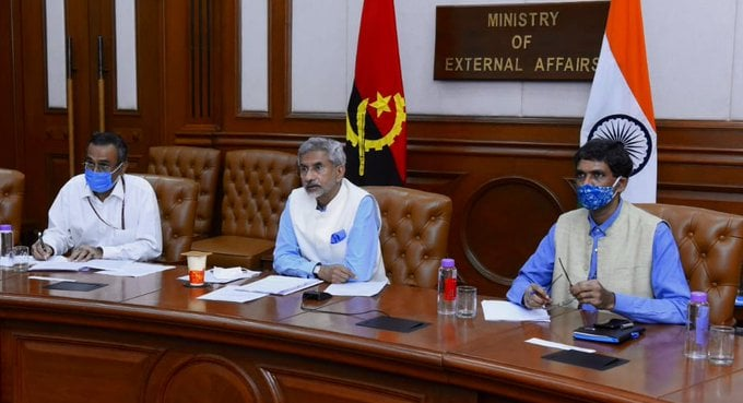 The Angola-India Joint Commission Meeting