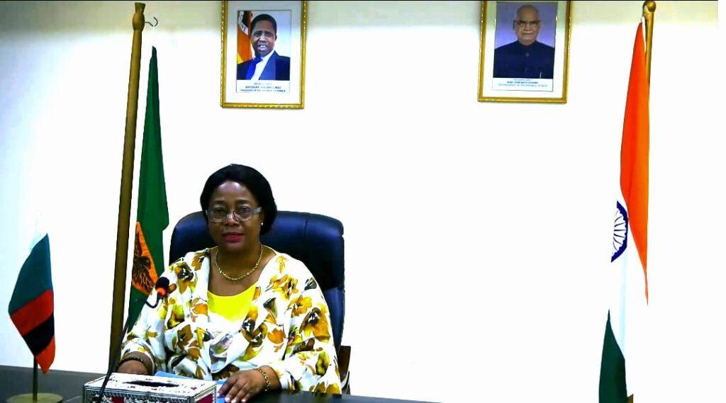 Zambia's High Commissioner to India Judith Kapijimpanga